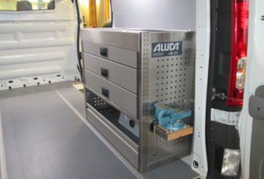 Nordsysteme - Aluca-Fahrzeugeinrichtung-Opel-Vivaro,werkstattwagen