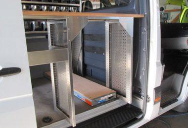 Nordsysteme - Aluca-Fahrzeugeinrichtung-Sprinter-Hydraulikservice,Werkstattwagen