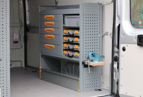 Nordsysteme - StoreVan Fahrzeugeinrichtungen aus Stahl, Werkstattwagen