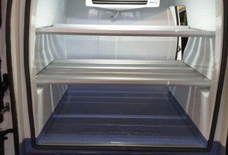 Nordsysteme Kühlfahrzeuge, herausnehmbare, doppelte Einlegeböden