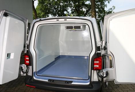 Nordsysteme Kühlfahrzeuge, T6 Frischdienstfahrzeug