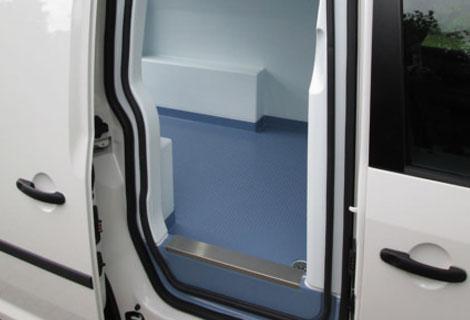 Nordsysteme Kühlfahrzeuge, Schutzschienen im Türbereich