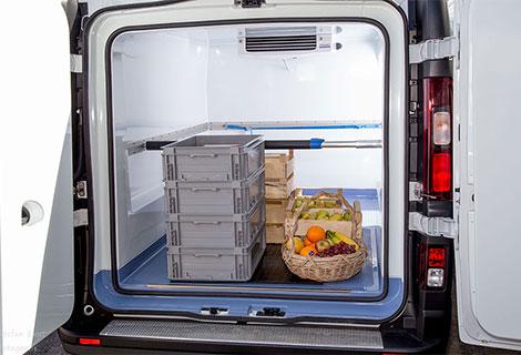 Nordsysteme Kühlfahrzeuge, Türen mit doppelter Dichtung