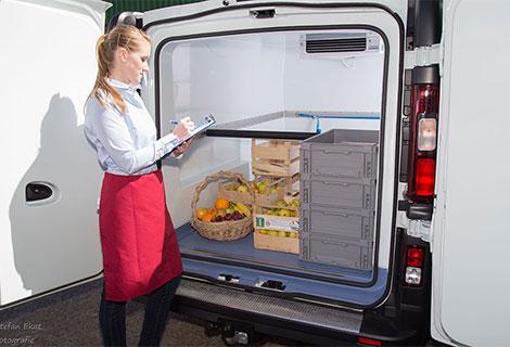 Nordsysteme Kühlfahrzeuge, Renault Trafic Frischdienstfahrzeug