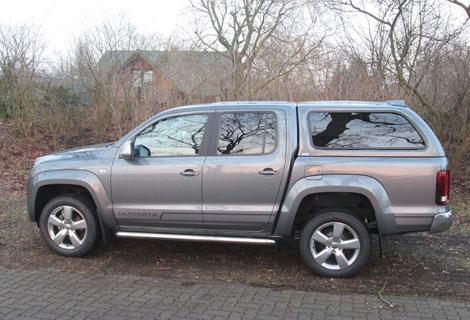 Nordsysteme - Spezialaufbauten, Hardtop auf VW Amarok, Doppelkabine