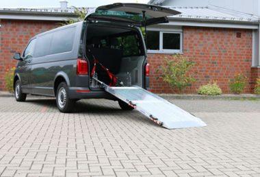 Nordsysteme Rollstuhltransport, Rollstuhltransportsystem, Rollstuhlrampe T6