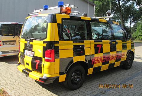 Nordsysteme - Follow-me-Fahrzeug VW T6