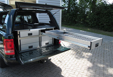 Nordsysteme - Sonderfahrzeuge, Tierarztfahrzeug VW Amarok mit Hardtop