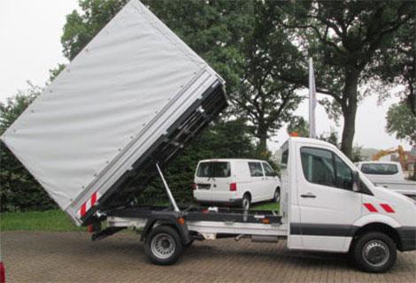 Nordsysteme - Spezialaufbauten, Kipper VW Crafter, Mercedes Sprinter