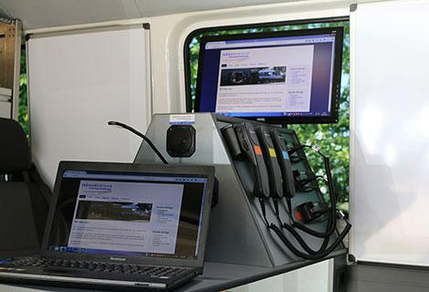 Nordsysteme - Sonderfahrzeuge, VW-Crafter Funktisch