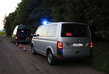 Nordsysteme - Sonderfahrzeuge, Anhaltesignalgeber für Ordnungsamt T6