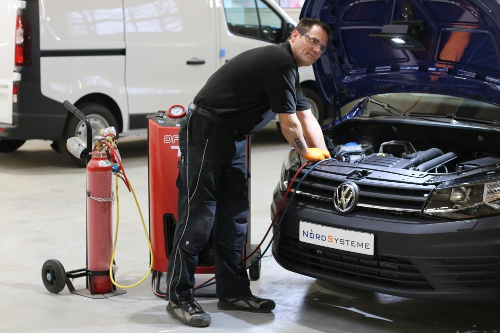 Nordsysteme-Kühlfahrzeuge Wartung